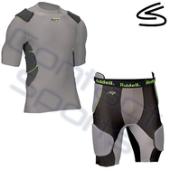 Riddell Intrergrated pad Shirt and Girdle Paket